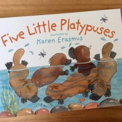 'Five Little Platypuses' published by Hachette Children's Books