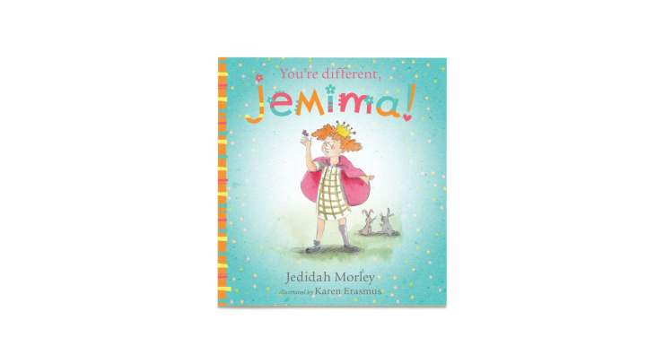 You're Different Jemima. A picture book for children