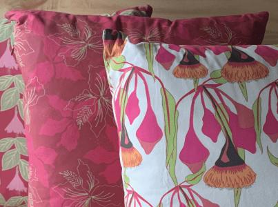 My prints on cushions