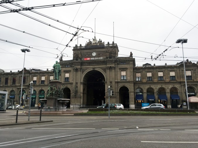 Train Station Zurich