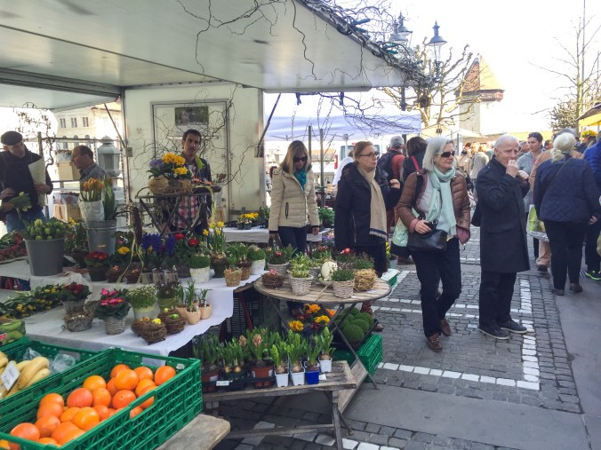 Saturday Market in Luzern