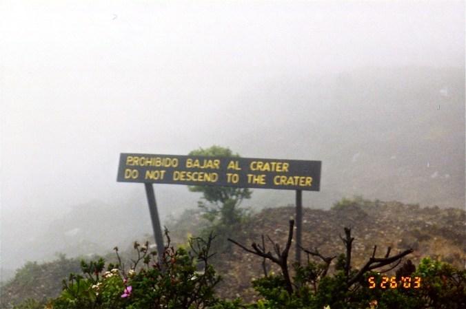 Volcano - Cloudy
