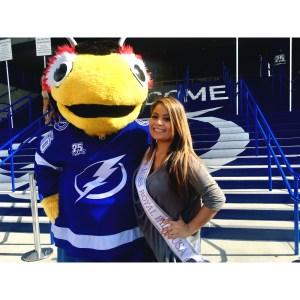Miss Florida, USA, Organization, beauty pageant, confidence, beauty, empowerment, woman, change, strong, mascot, Tampa Bay, NHL