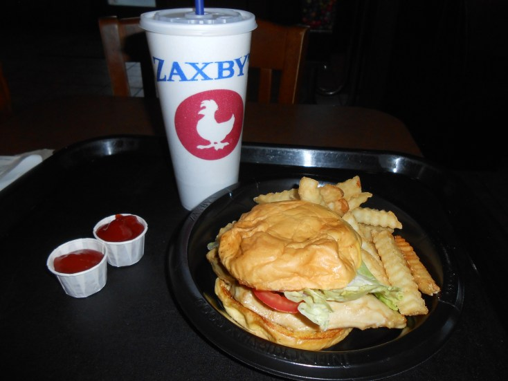 A free lunch at Zaxby's can be yours if you sign up for the Zaxby's Birthday Club! It was delicious!