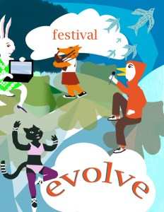 Evolve Festival, Digital Poster Sample 2011