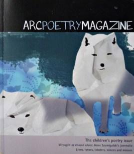 Cover - Arc Poetry Magazine - Illustration by Karen Hibbard