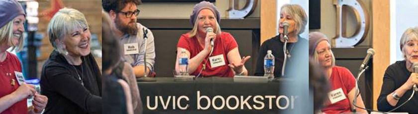 Writers Panel with Karen Hibbard - UVIC Bookstore