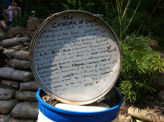 cathedral of junk story drum