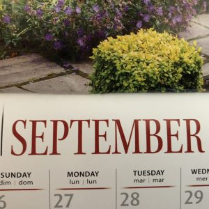 Calendar, Might and Main Monday: Dealing With Sunday Night Dread, Karen Hugg, https://karenhugg.com/2018/09/10/sunday-night-dread #inspiration #Mondays #Sundays #work #job #schedules