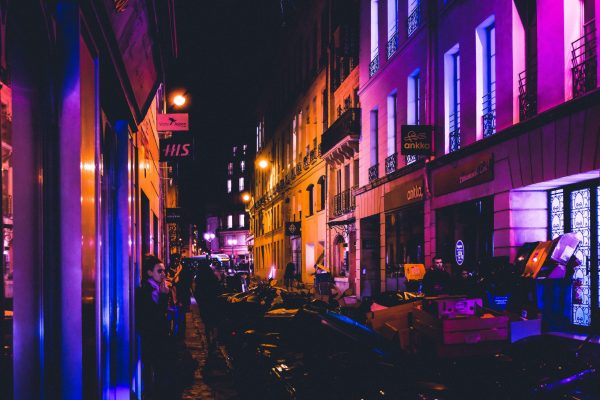 Paris at Night, Saad Sharif, Paris in a Technicolor Dream, Karen Hugg, https://karenhugg.com/2018/09/19/paris-at-night/