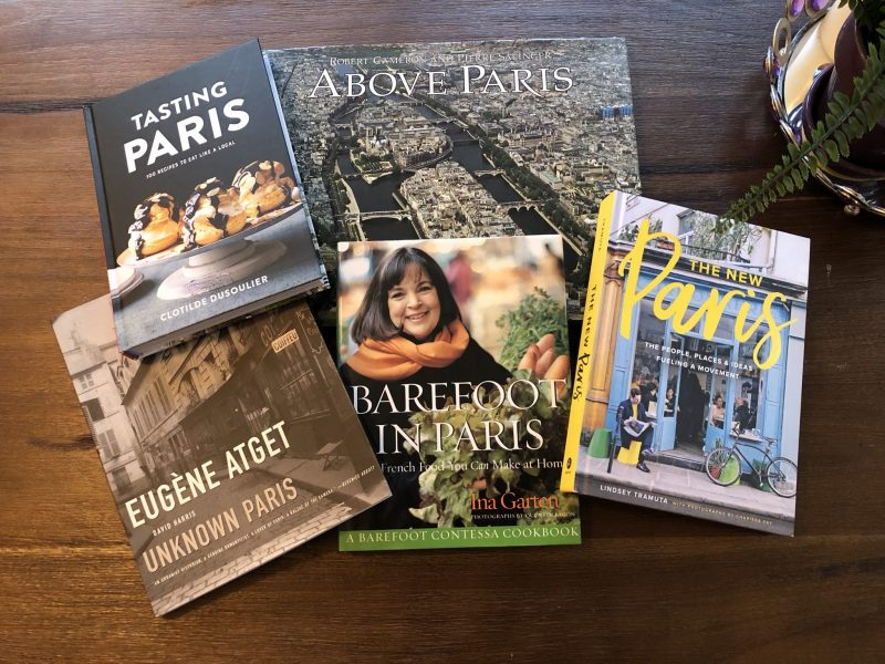 Five Fantastic Books to Help You Dream About Paris, Paris Gift Books, Karen Hugg, https://karenhugg.com/2018/12/15/books-about-paris/ #books #Paris #France #InaGarten #EugeneAtget #TheNewParis #food #cooking