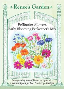 Beekeeper Seeds, Renees Garden, News, Karen Hugg, www.karenhugg.com/news #bees #wildflowers #TheForgettingFlower #KarenHugg #plants #gardening #savethebees