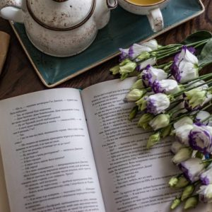 Book and Flowers, The First Reviews of The Forgetting Flower Are In! And Not From Friends, Karen Hugg, https://karenhugg.com/2019/05/23/reviews/ #TheForgettingFlower #books #novels #bookreviews #reviews #goodreads #netgalley