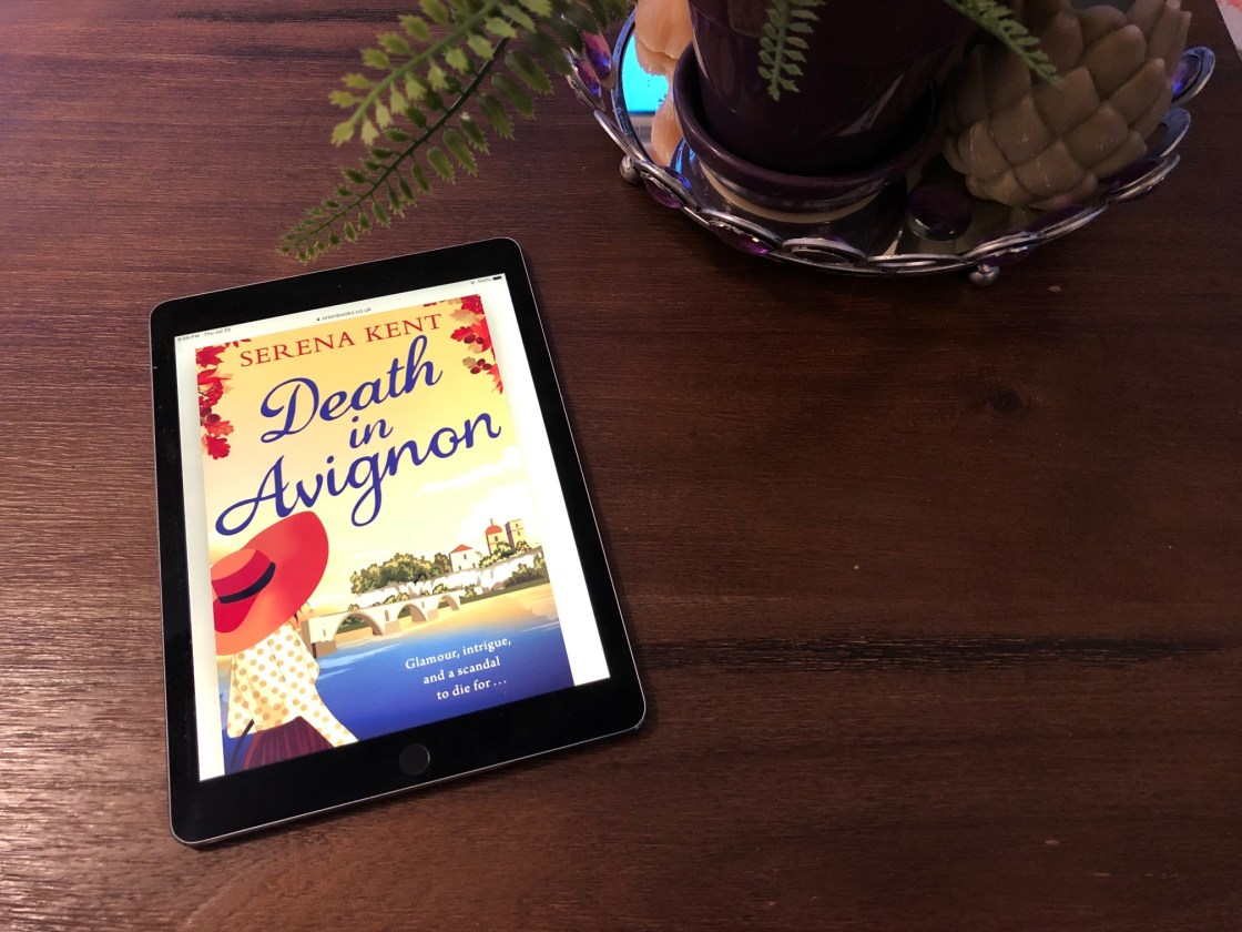 Death in Avignon Book, Death in Avignon, Murder in Provence's Art World, Karen Hugg, https://karenhugg.com/2019/07/25/death-in-avignon/ #DeathinAvignon #books #novels #Provence #France #mysteries #cozy #bookssetinFrance #bookssetinProvence #DeborahLawrenson #SerenaKent