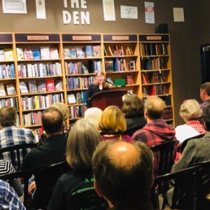 Karen Hugg Book Reading, The Strange Sensation of Being a Book Star for an Hour, Karen Hugg, https://karenhugg.com/2019/07/14/book-reading/ #KarenHugg #book #reading #TheForgettingFlower #Paris #fiction #literary #thrillers #Seattle #ThirdPlaceBooks