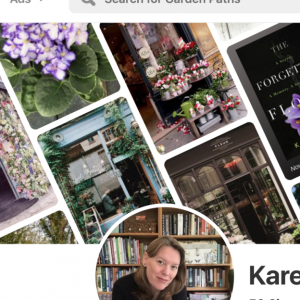 Karen Hugg Pinterest, Why Pinterest is Fantastic for Discovering Your Brand, Karen Hugg, https://karenhugg.com/2019/09/18/why-pinterest-is-fantastic-for-discovering-your-brand #authorbrand #authormarketing #books #bookmarketing
