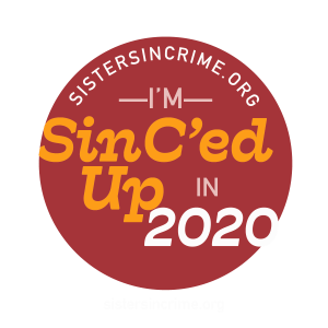 Sisters in Crime member badge