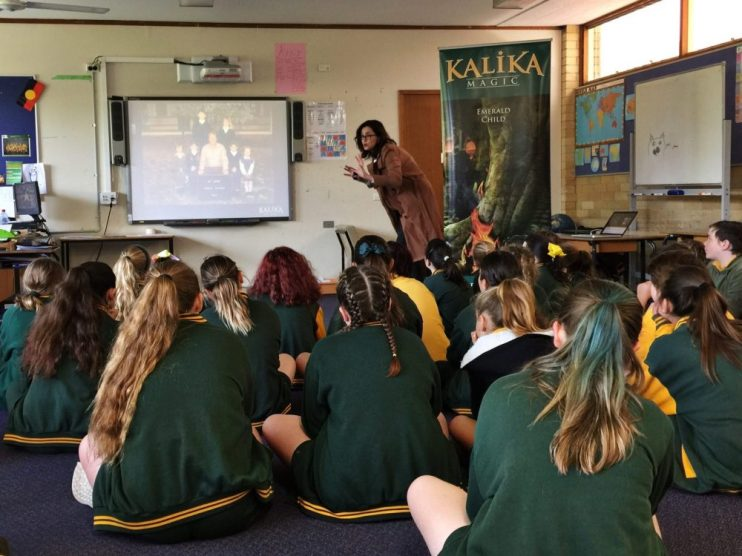 Kalika Magic School Visits