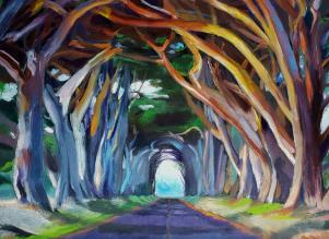 Point Reyes Tree Tunnel 2, Karen Huss