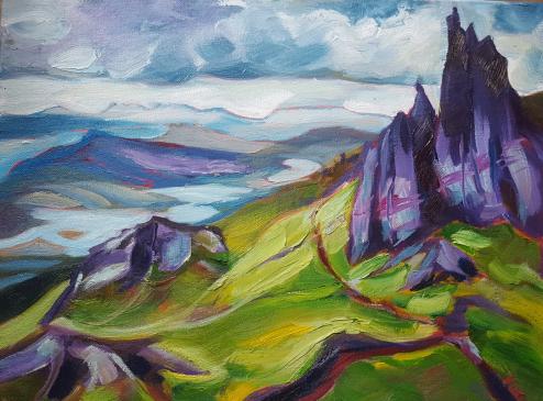 Isle of Skye, Karen Huss