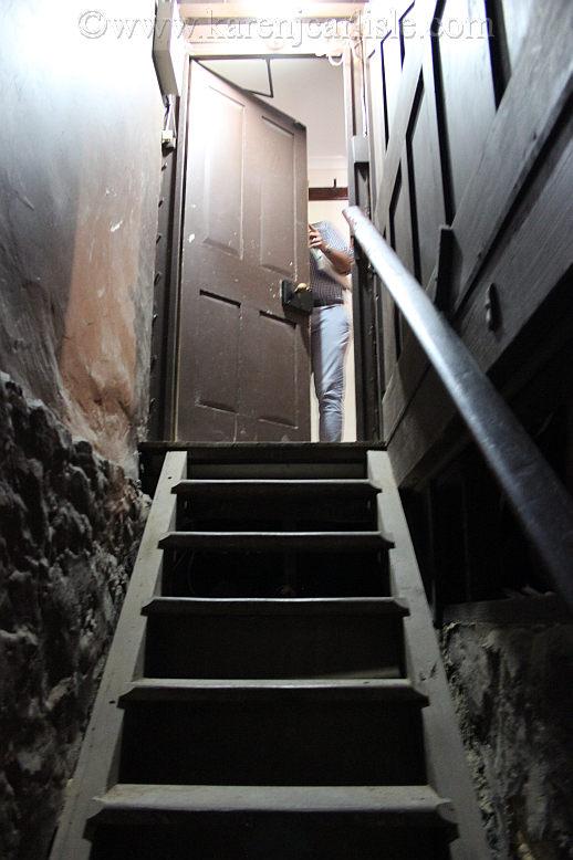 druminorcellar stairsup_copyright2016KarenCarlisle