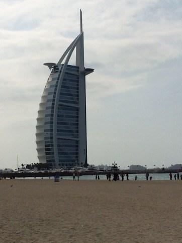 Burj Al Arab, world's tallest, most luxurious hotel. Rated 7-Stars.