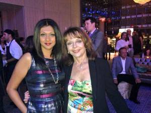 Christine Bentley and KJ at Four Season Anniversary party