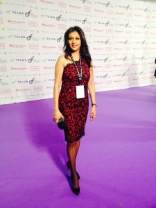 DAVID FOSTER Charity Event Red Carpet  Waiting for the A listers