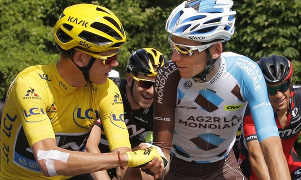 Congratulations to Chris Froome on winning Le Tour de France 2016. Photo courtesy of Christophe Ena, AP