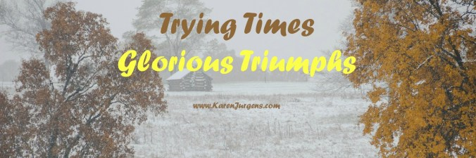 Trying Times Glorious Triumphs by Karen Jurgen