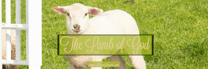 The Lamb of God in the Old Testament by Karen Jurgens