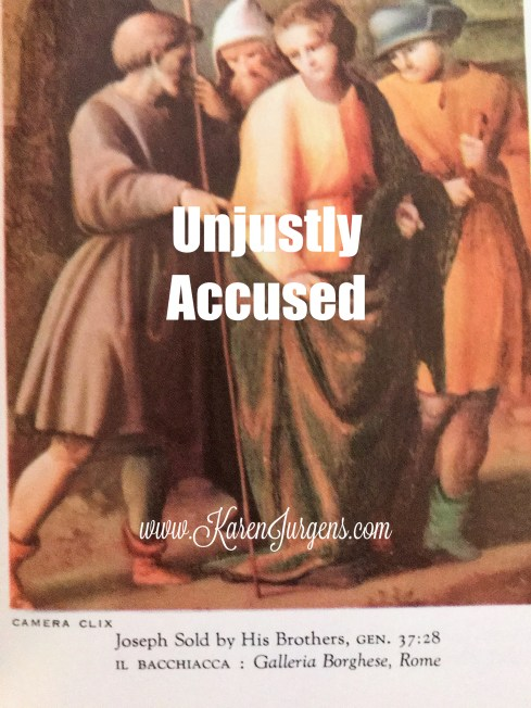 Unjustly Accused by Karen Jurgens