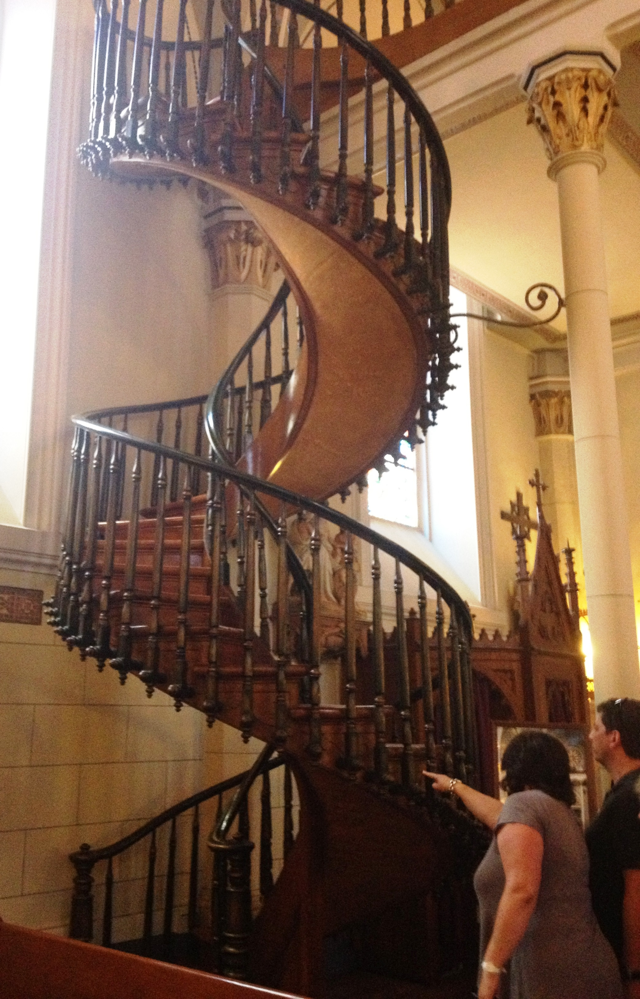 Art Is As Spicy Hot Or Soothingly Sweet In Santa Fe As New   Stairs Of Loretto Chapel