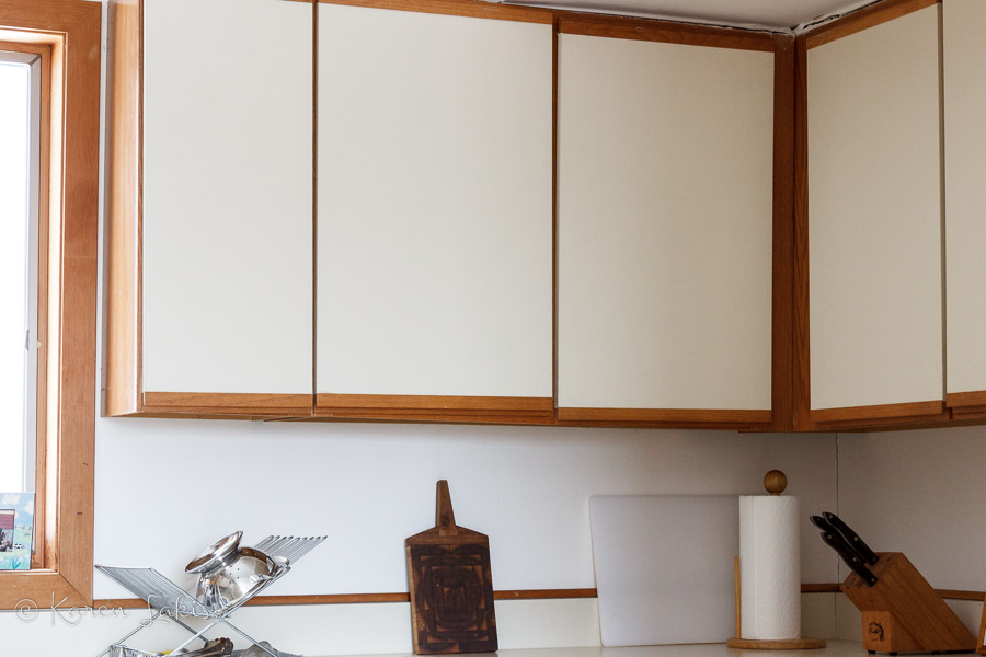 old cabinets
