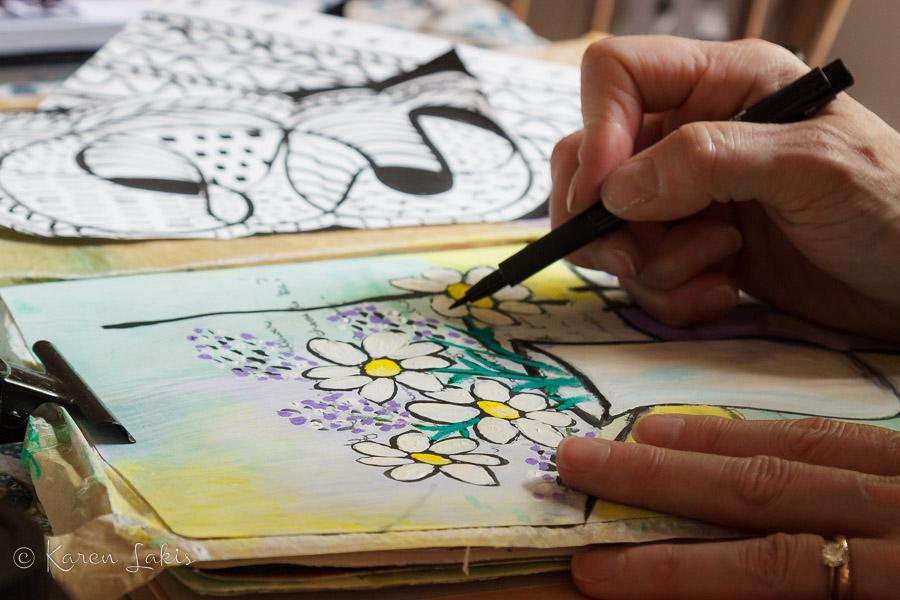 art journaling