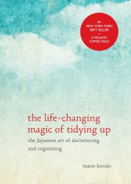 the life changing magic of tidying up book