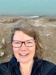 selfie on beach