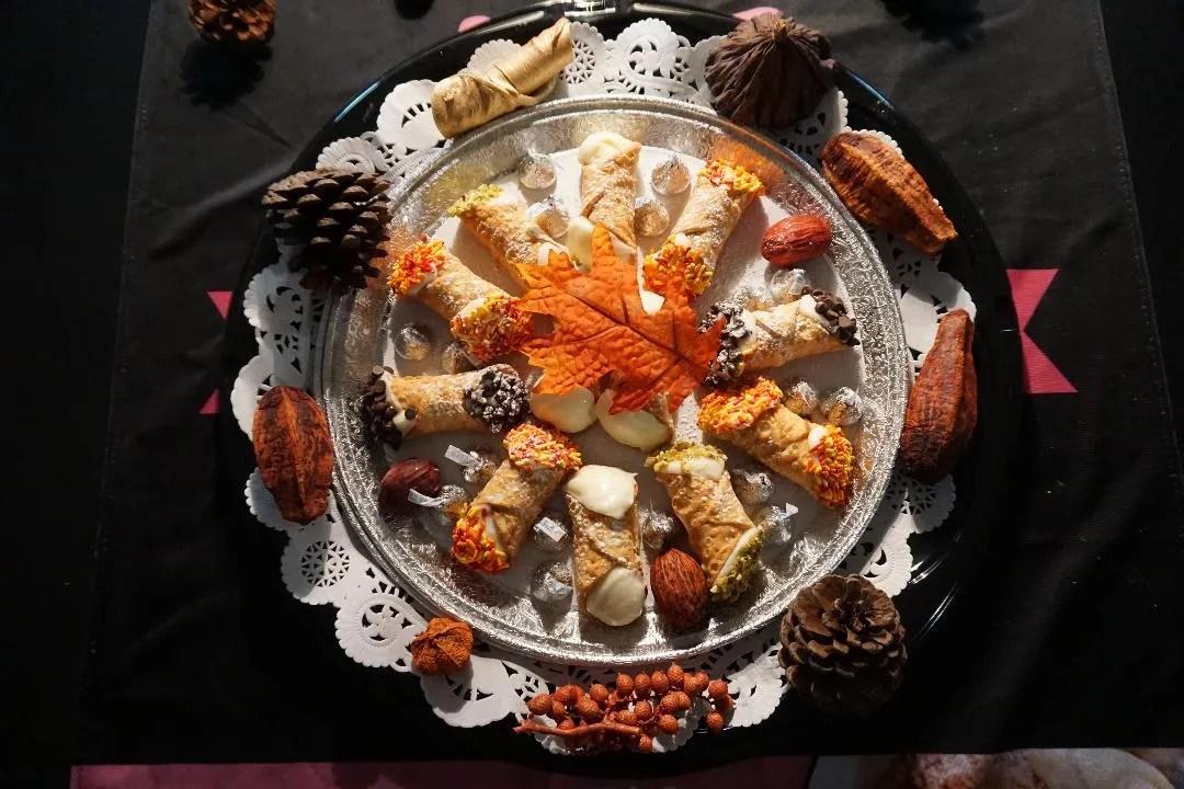 Fall Cannoli Platter