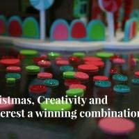 Christmas, Creativity and Pinterest a winning combination.