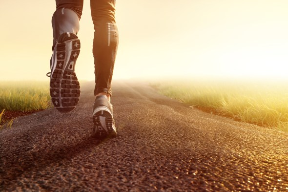 jogging and stamina