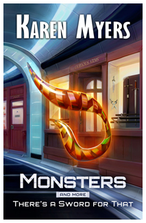 Image of Monsters, And More, a science fiction short story bundle by Karen Myers