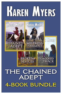 Image of book cover for The Chained Adept Bundle (1-4)