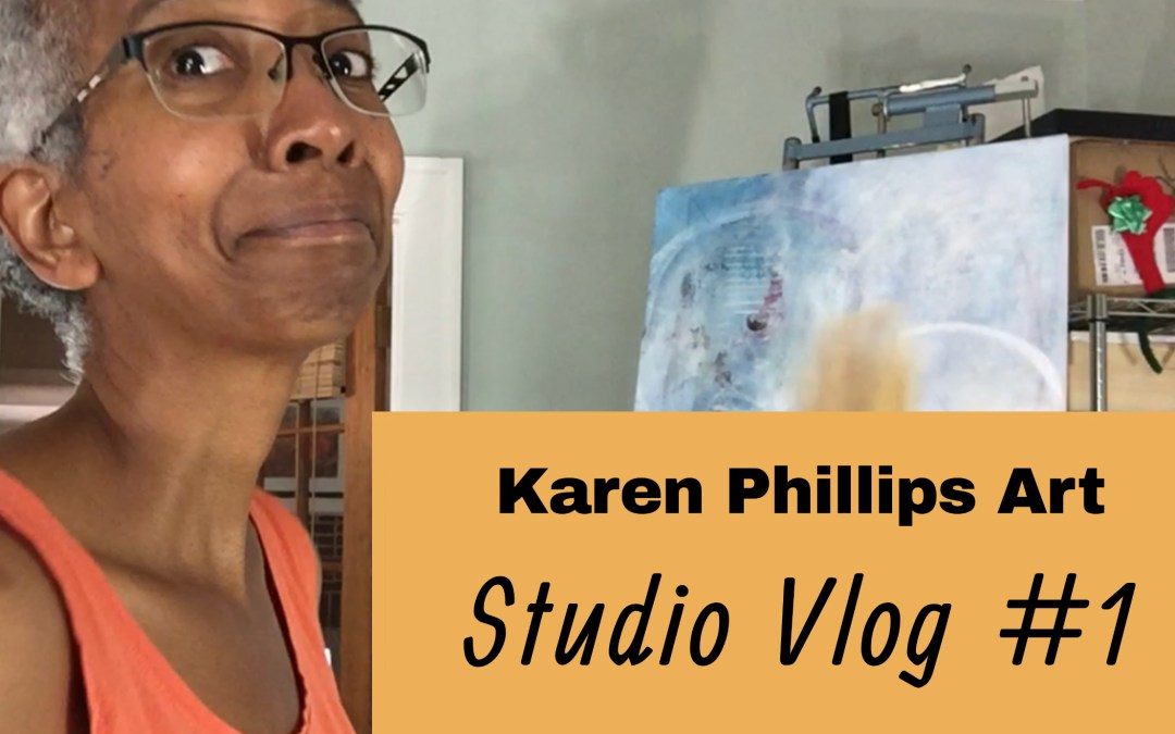 Studio vlog on YouTube video