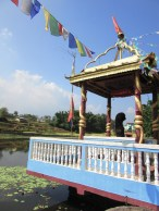 Nearby shrine to the snake gods of the Kathmandu valley