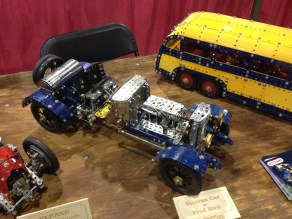 BC Mechano Modellers - the work of many different modellers on display here.