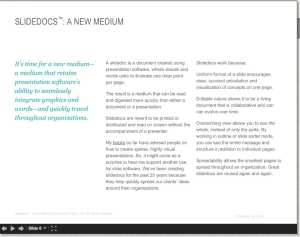 Nancy Duarte's slidedocs