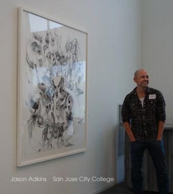 Jason Adkins Graphic Art at ArtArk Gallery