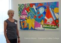 Patricia Moran Painting at ArtArk Gallery