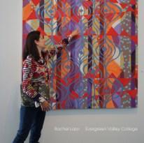 Rachel Lazo Painting at ArtArk Gallery
