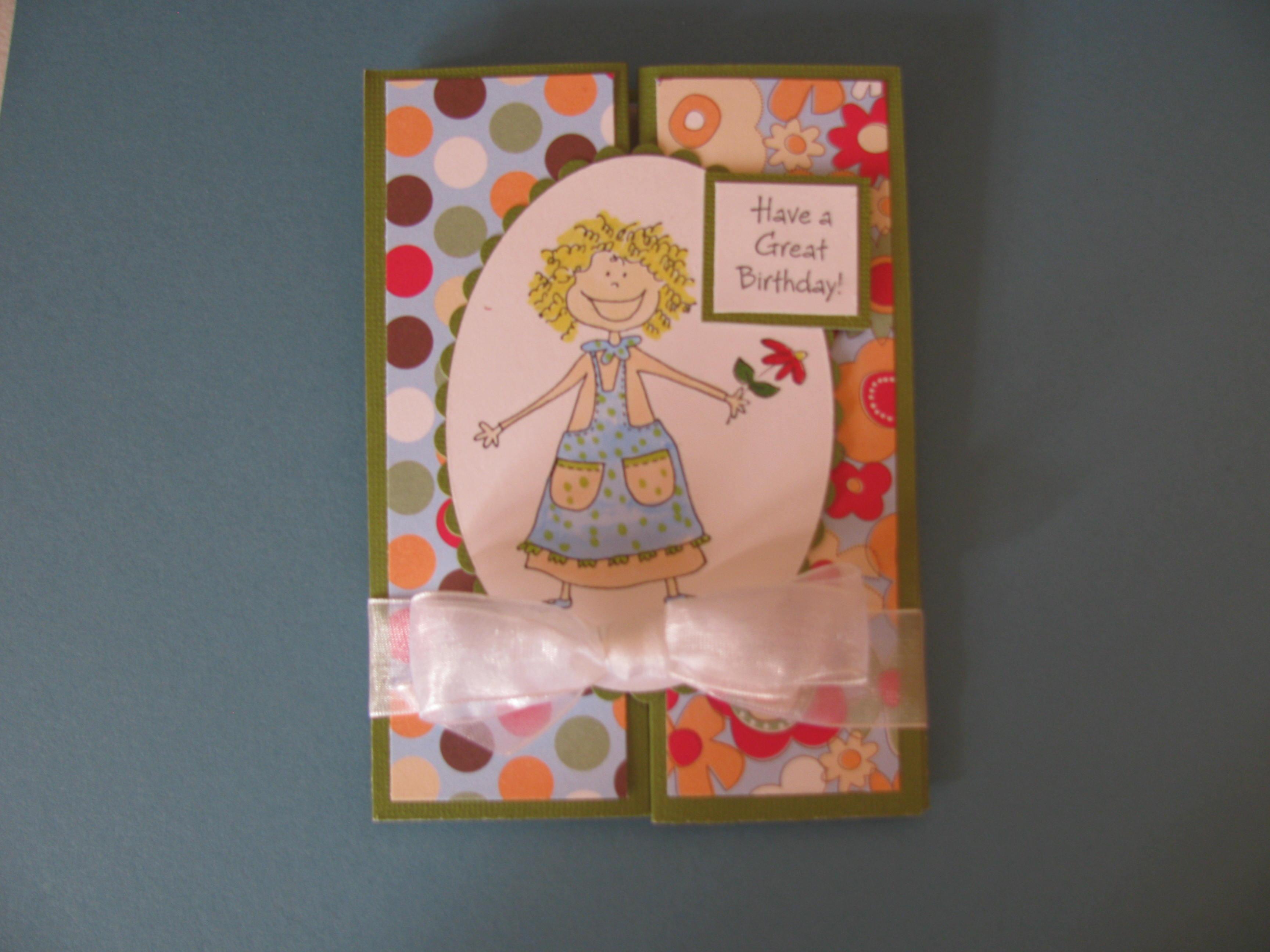 Handmade Birthday Card Karens Handmade Cards